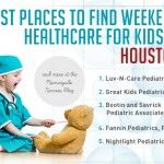 Best Places to Find Weekend Healthcare for Kids in Houston