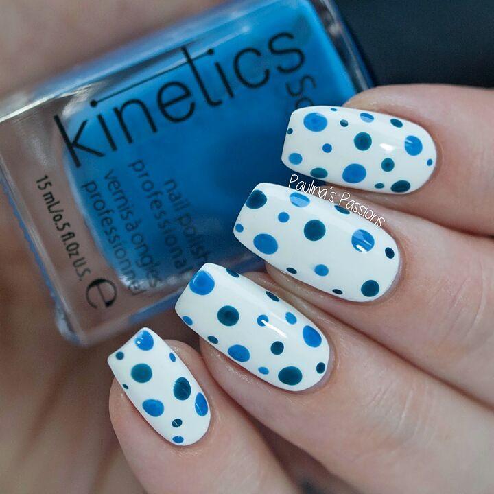 60 Polka Dots Nail Art Ideas You Can Do It Easily At Your Home Polka Dot Nails Dots Nails Dot Nail Art