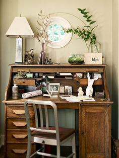 1000 Ideas About Antique Desk On Pinterest Home Office Storage