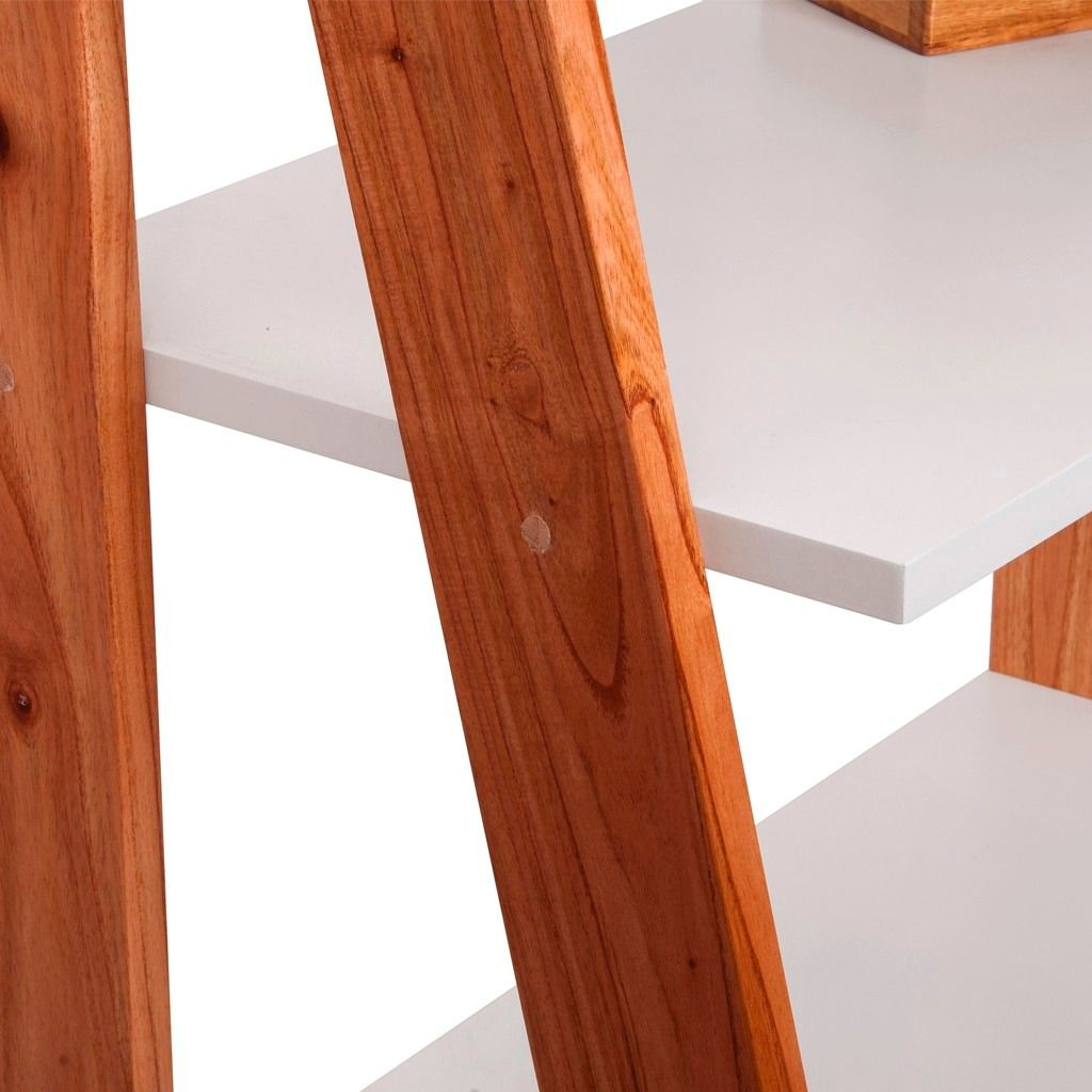 Escalera Estanteria Mueble Escandinavo Madera Paraiso - $ 4.190,00 en MercadoLibre