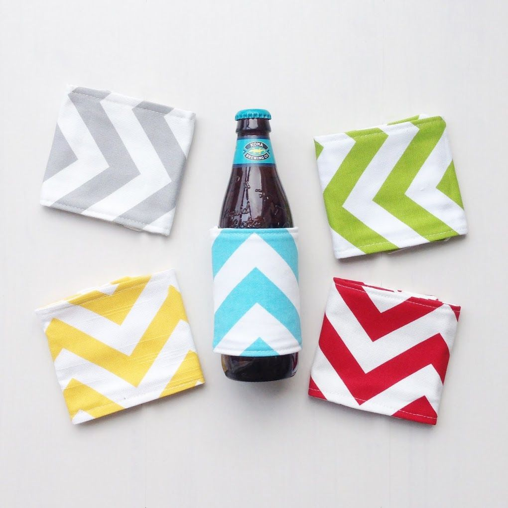 dress up your drinks with these fun koozies #beer #soda #drinks ...