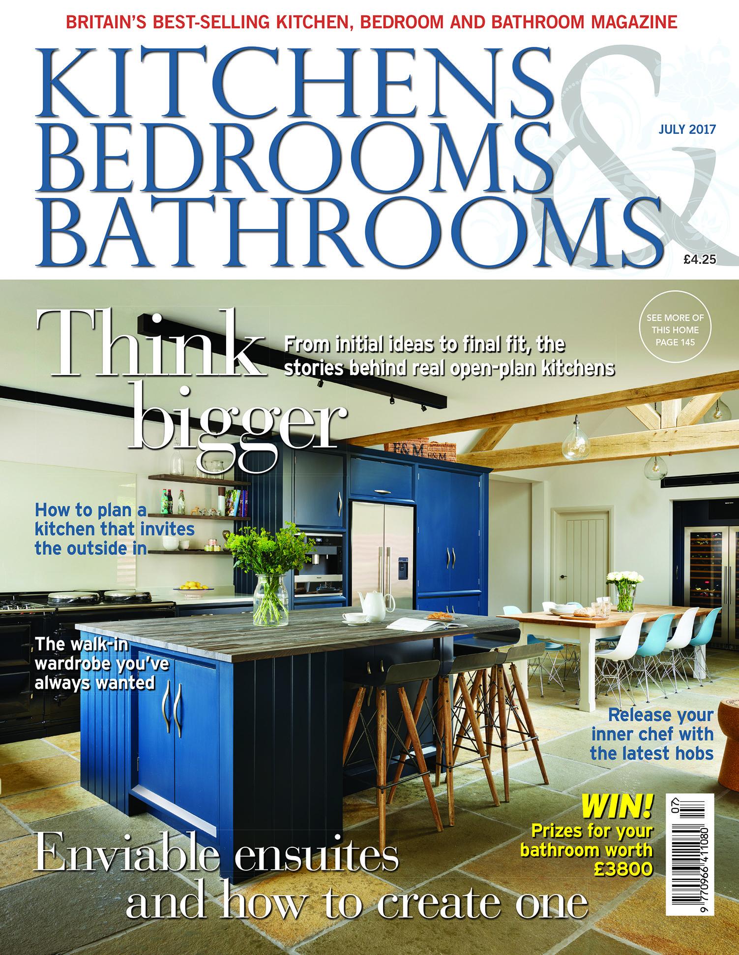 Photos Of Kitchens Bedrooms u Bathrooms magazine July
