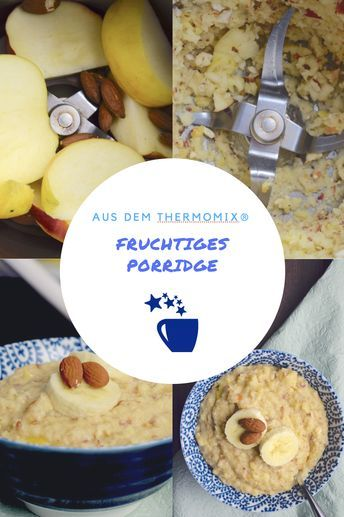 Fruchtiges Porridge #applecrisp
