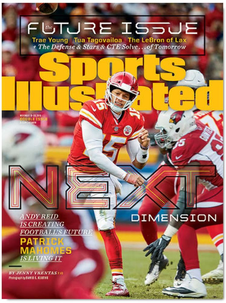Sports Illustrated The Future Issue Patrick Mahomes