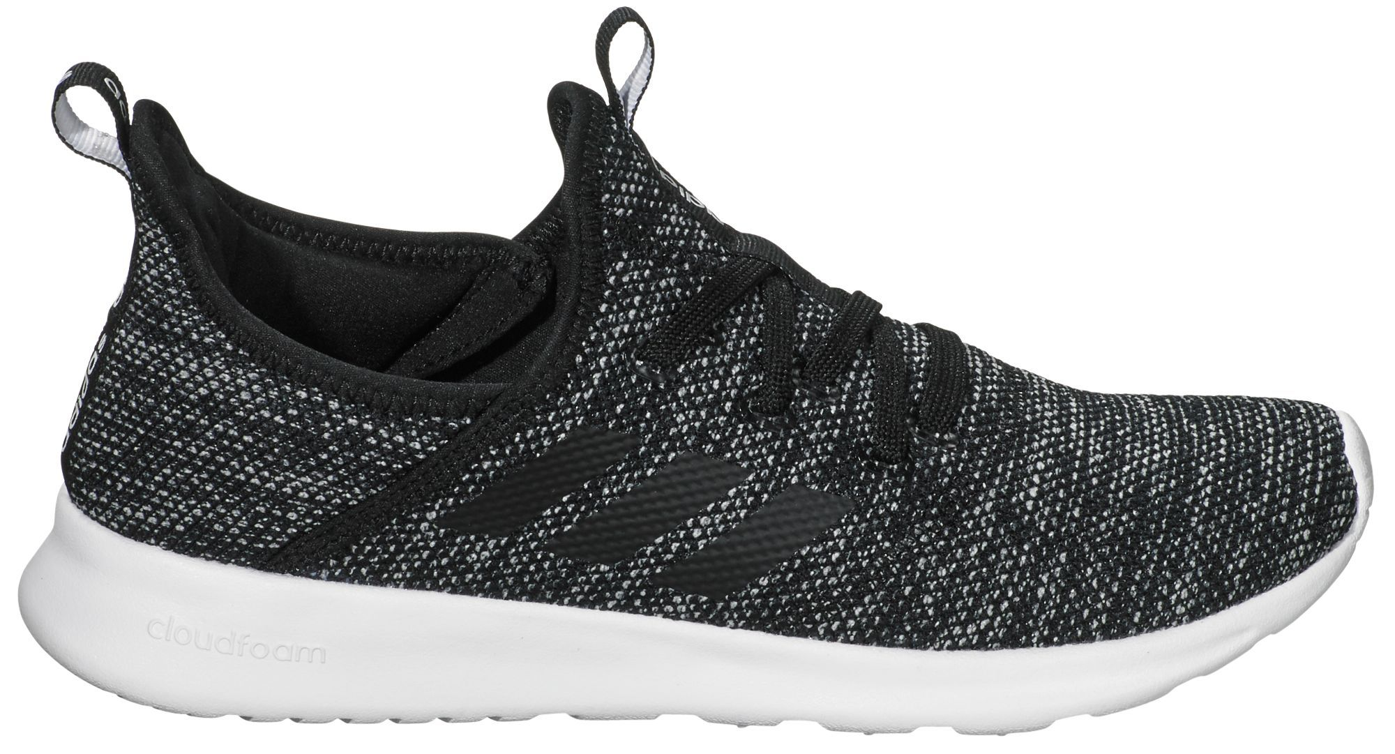 Adidas  mujer 's cloudfoam puro zapatos, tamaño:, negro Pinterest