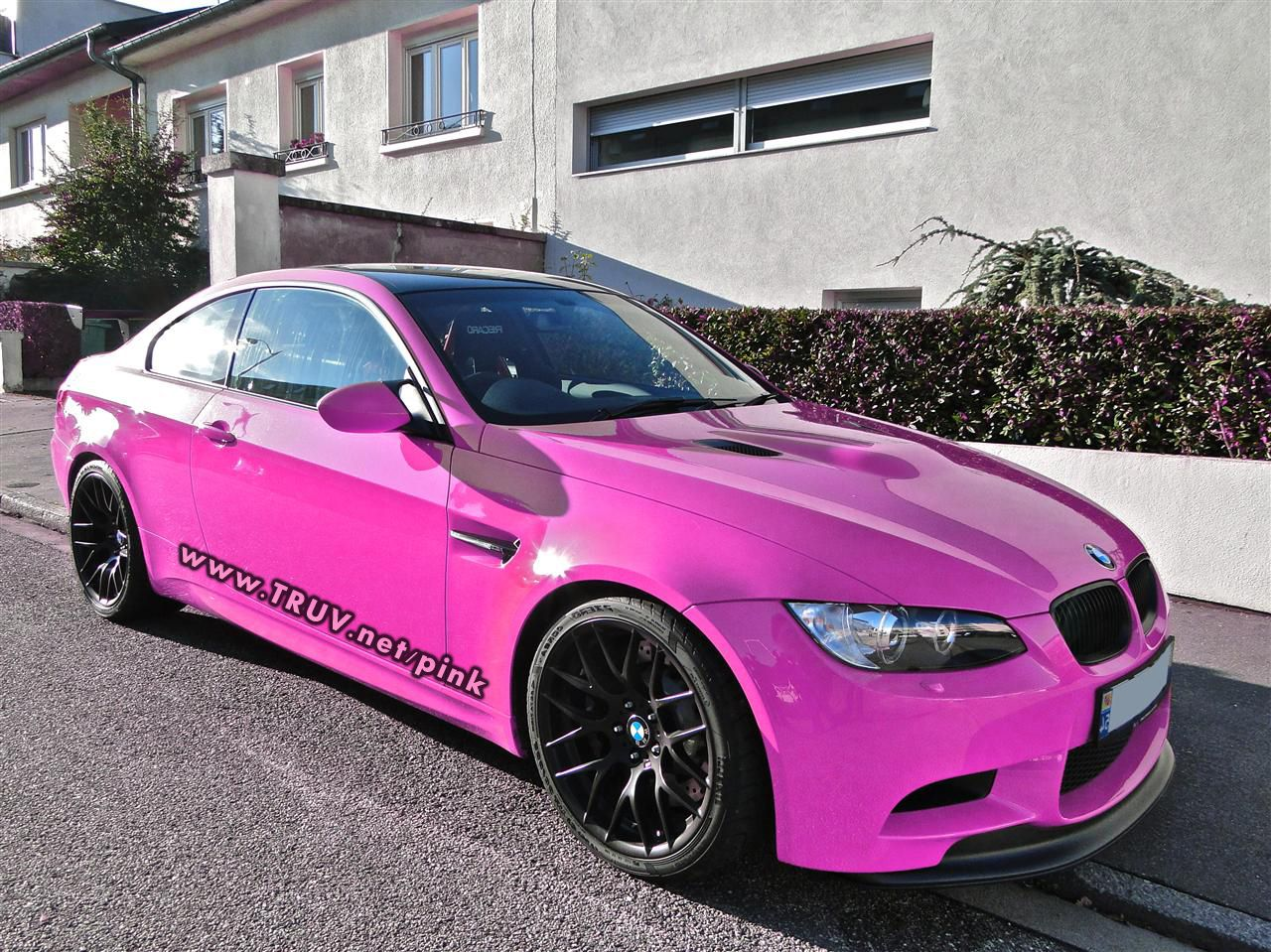 Bmw m3 pink girly cars for female drivers love pink cars it s the