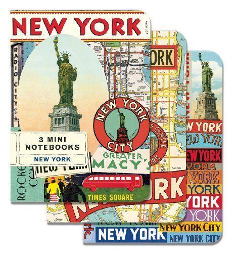 Cavallini Mini Notebooks: New York
