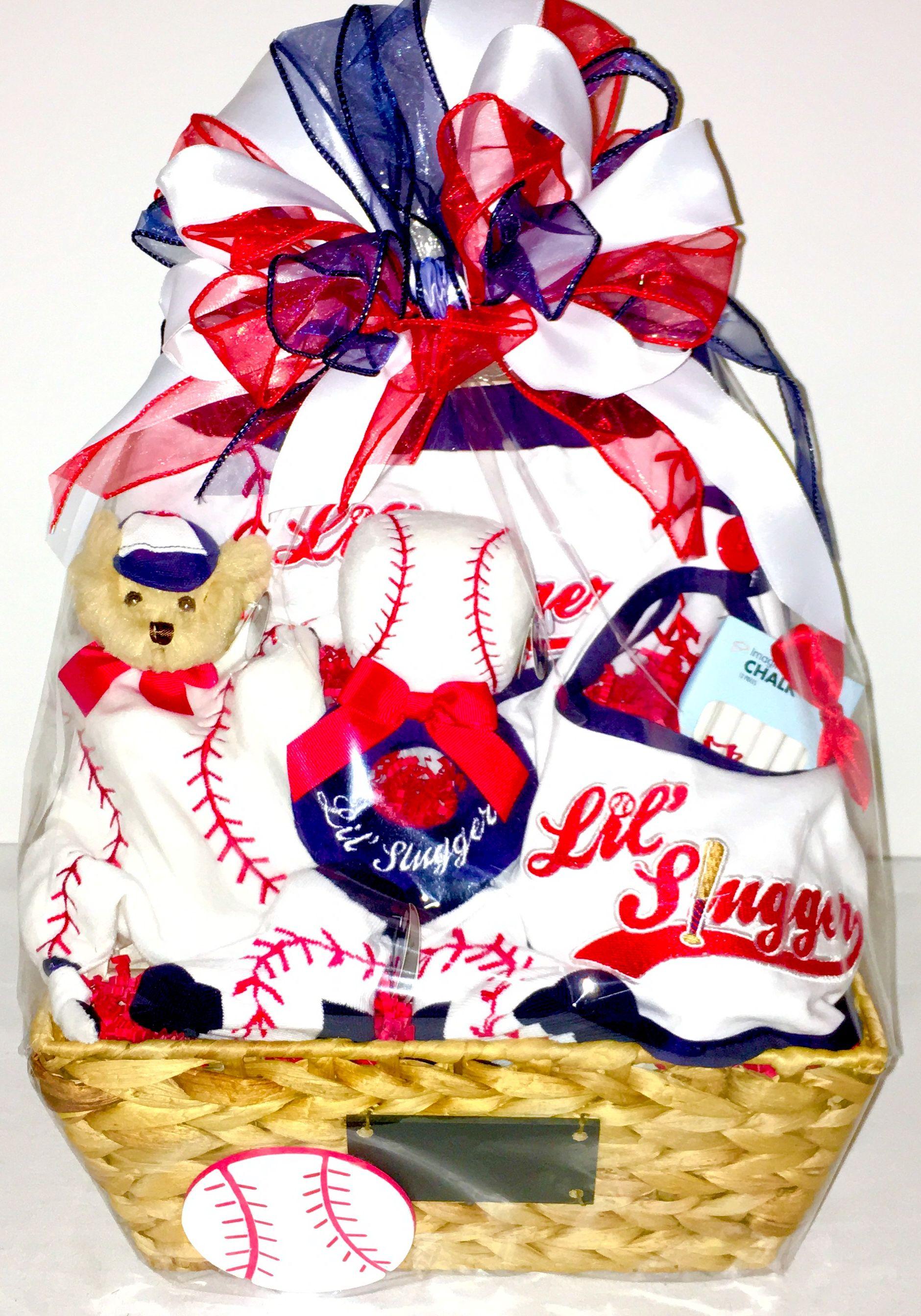 DIY Baseball gift basket | Baseball gift basket, Baseball ...  |Baseball Sympathy Gifts