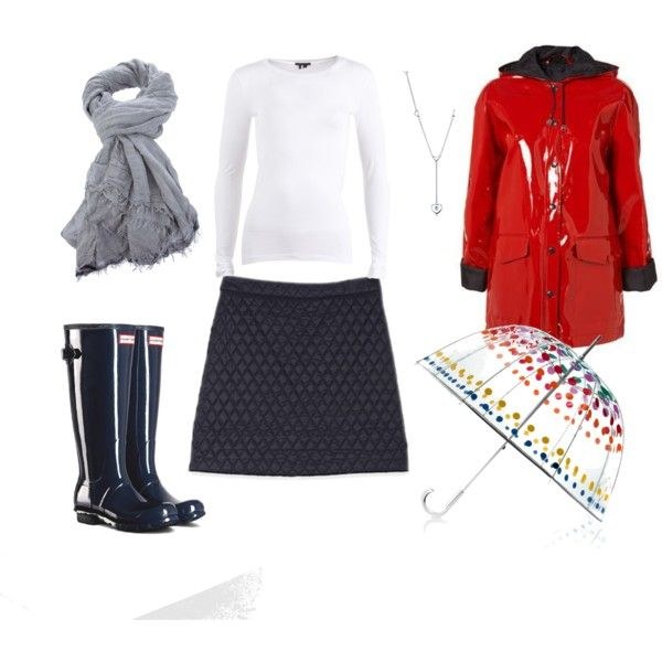 Rainy day - Winter by minime80 on Polyvore featuring Theory, Tiffany & Co., Faliero Sarti, Totes and Topshop
