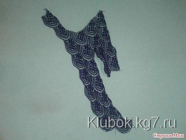 Hermosa blusa artesanal para las más avanzadas en tejido / patrones ...