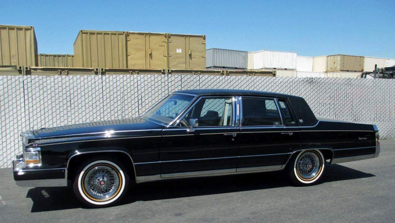 cadillac brougham with vogues and real wire wheels jus one more cadillac cadillac ct6 donk. Black Bedroom Furniture Sets. Home Design Ideas