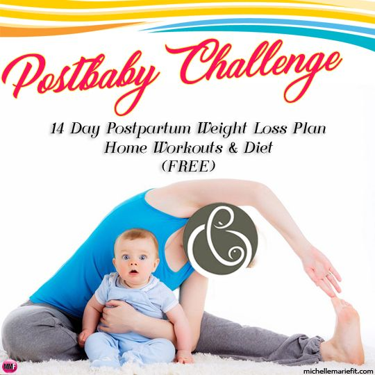 "The 2-Week ""AFTER PREGNANCY"" Workout Plan Lose your baby weight faster and tone up from home Quick workouts, diet tips and support Lose The Baby Weigh 2-Week Workout & Weight Loss Plan"