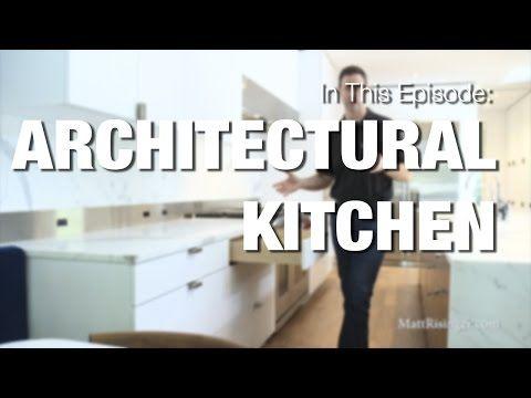 Modern Kitchen   Wood Mode Cabinets U0026 Sub Zero Wolf Appliances Review    YouTube