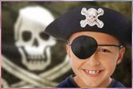 Photo of Piraten Augenklappe zum Kindergeburtstag basteln – Anleitung  Tinker pirate ey…