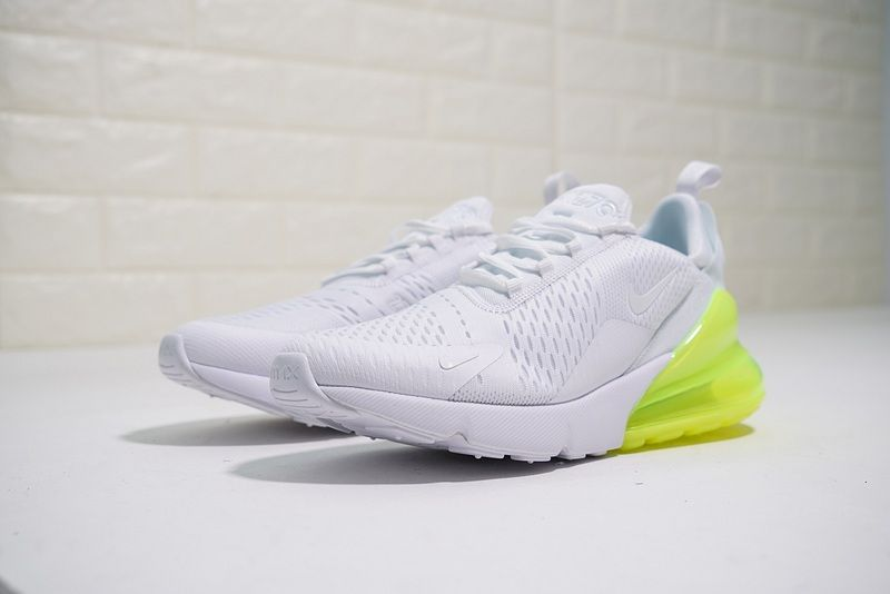 Authentic Nike Air Max 270 White Volt AH8050 104 Buy New
