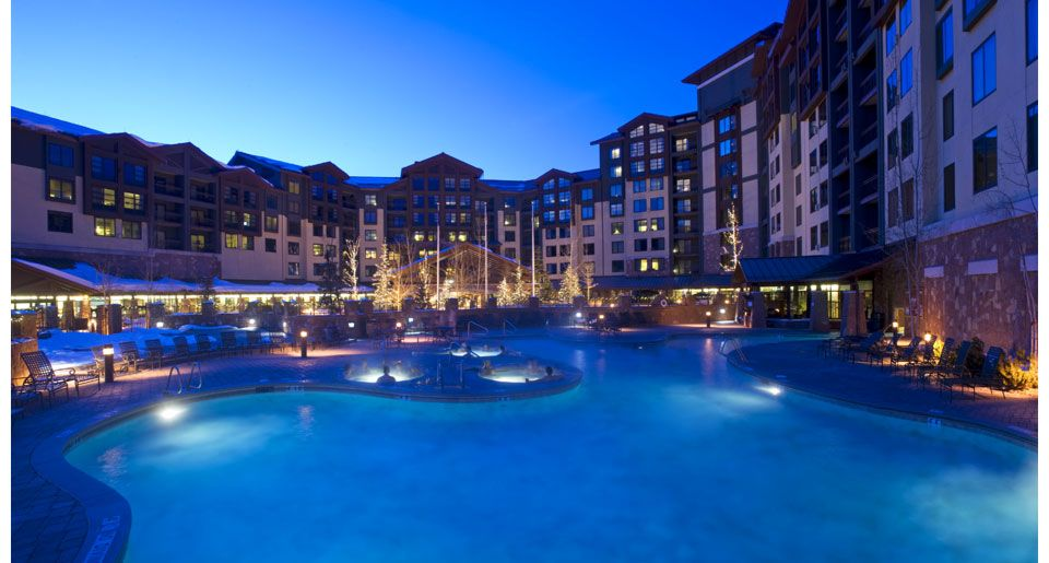 The Grand Summit Hotel At Canyons Ski And Snowboard Resort In Park City Utah Park City Vacation Rentals City Vacation Utah Resorts