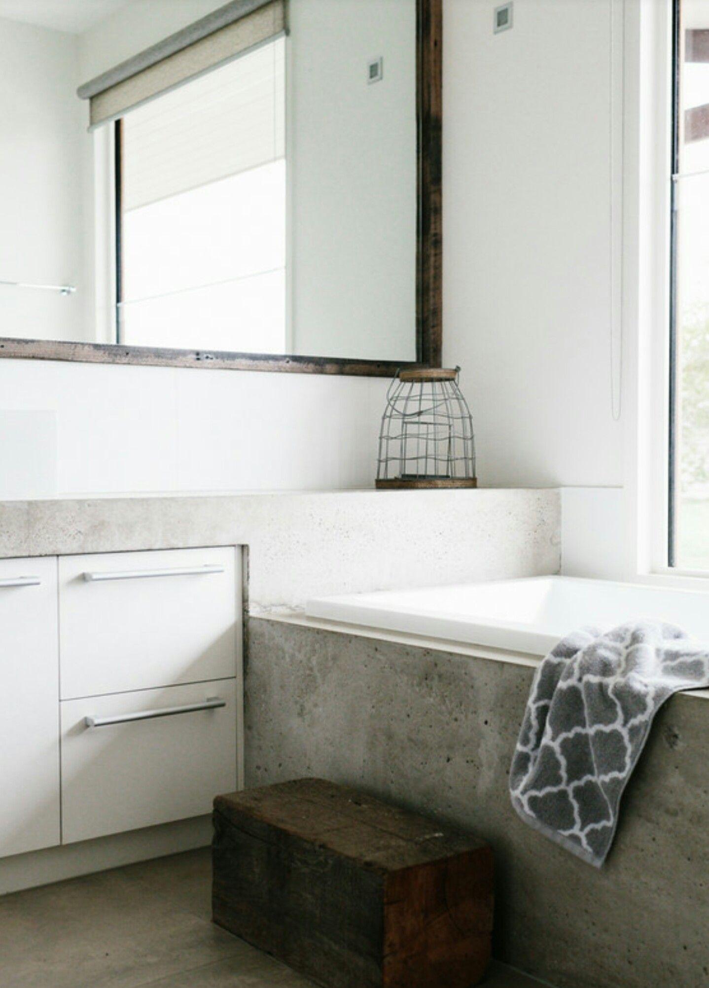 Family bathroom image by Black Salt on Bathroom Concrete