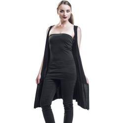 Frühlingsmode für Damen #blacksleevelessdress