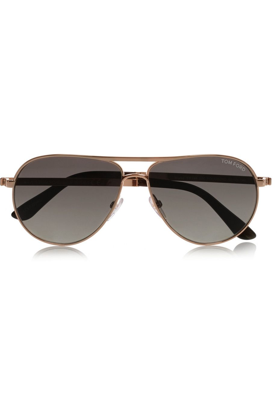 e8008ae7c6af9 TOM FORD - Marco aviator-style gold-tone sunglasses