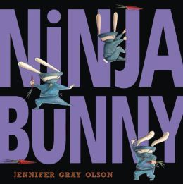 Ninja Bunny by Jennifer Gray Olson. This rabbit shares the steps for being a super ninja. This would make a good writing mentor for early writers to think about how to be something, share about themselves (ie. how to be Sarah), or tell about something by thinking of the details that describe it.