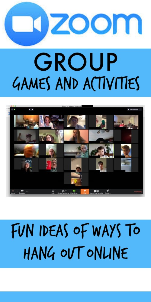 Fun Online Group Games For Zoom