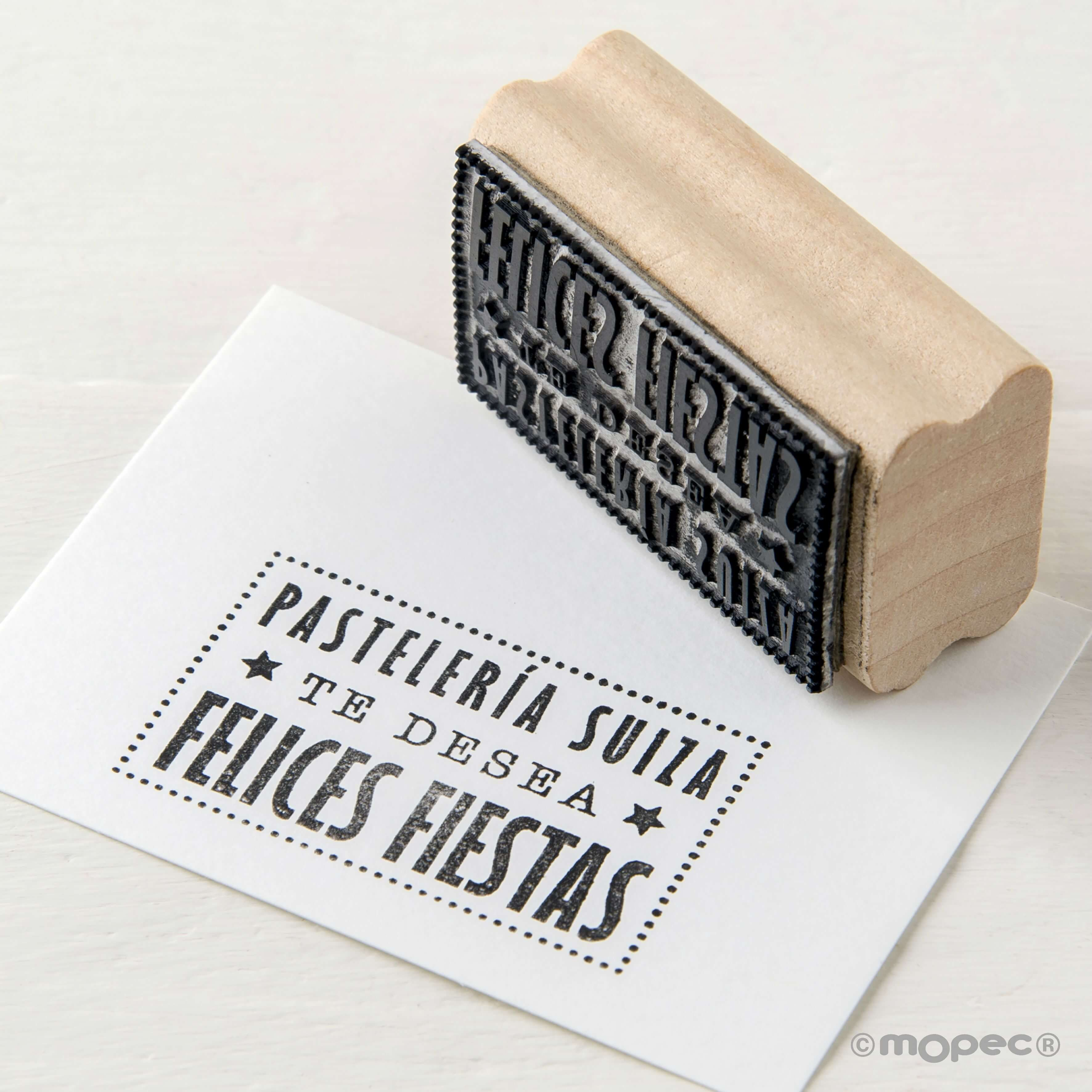 Timbri Personalizzati Per Stoffa sellos con toque personal para #navidad🎄 y #añonuevo