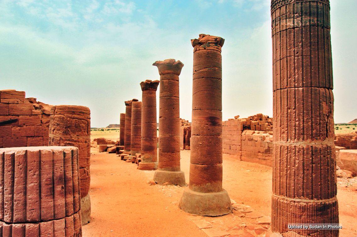 Sudan S Antiquities Musawwarat Es Sufra Northern Sudan من أثار السودان المصورات الصفراء شمال السودان By Andrzej Olszewski Egypt Africa Monument Valley