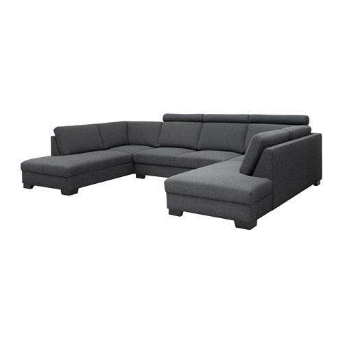 s rvallen sofa u form 4 sitzig ten hellgrau pinterest dunkelgrau sofa und ikea. Black Bedroom Furniture Sets. Home Design Ideas