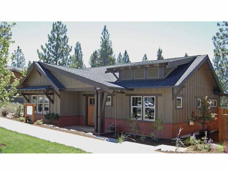 Eplans bungalow house plan bungalow craftsman single for Eplans craftsman bungalow 11192