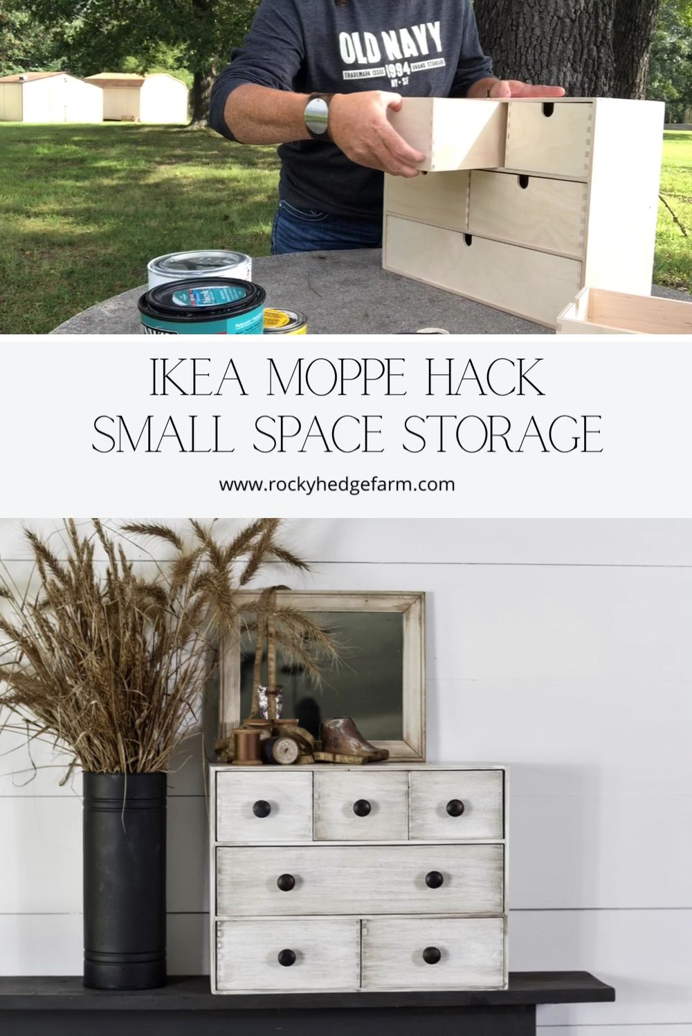 Photo of IKEA Moppe Hack: Small Space Storage