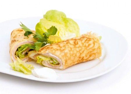 Pfannkuchen Wraps Rezept Von Patric Heizmann Rezepte Lebensmittel Essen Gesunde Lebensmittel
