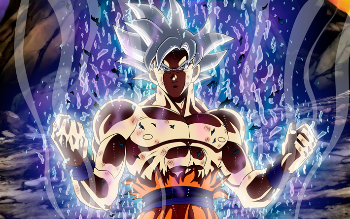 Download Wallpapers 4k Ultra Instinct Goku Magic Dragon