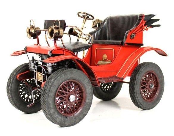 Handmade Antique Model Kit Car 1893 Mercedes Benz Vintage Cars