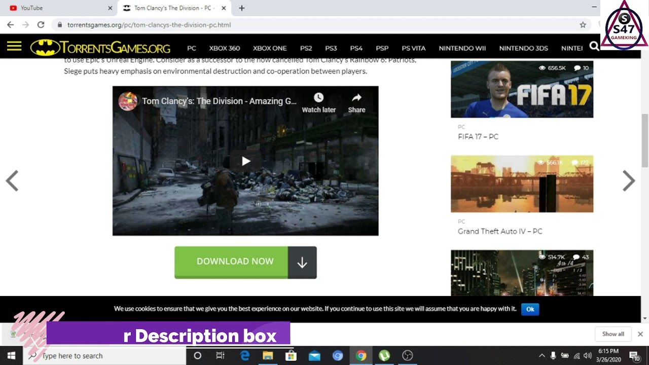 Tom Clancy's The Division PC games free Full Version
