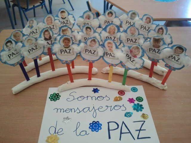 Dia De La Paz Educacion Infantil Buscar Con Google Dia De La Paz Educación Para La Paz Cultura De La Paz