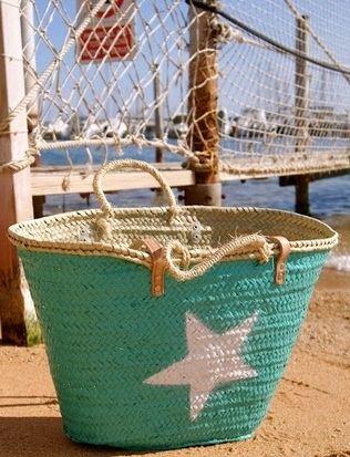 Great beach combing basket.