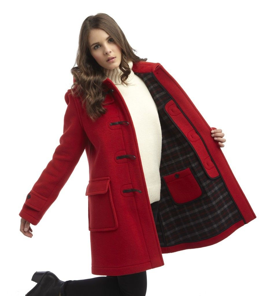 Image result for duffle coat women | Wonderland | Material, Detail ...