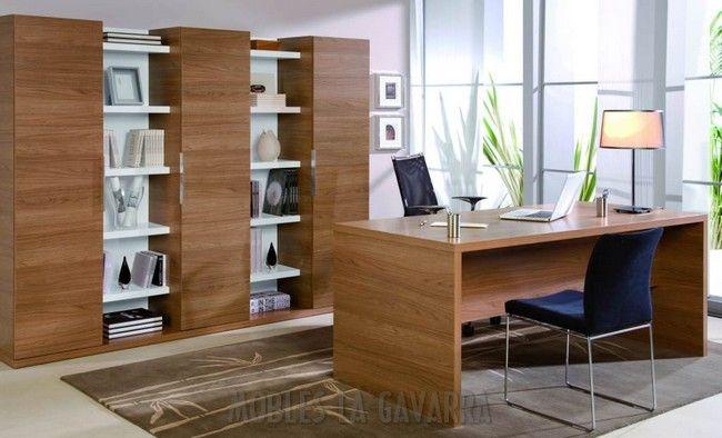 Oficina en casa buscar con google estudio pinterest for Muebles despacho casa