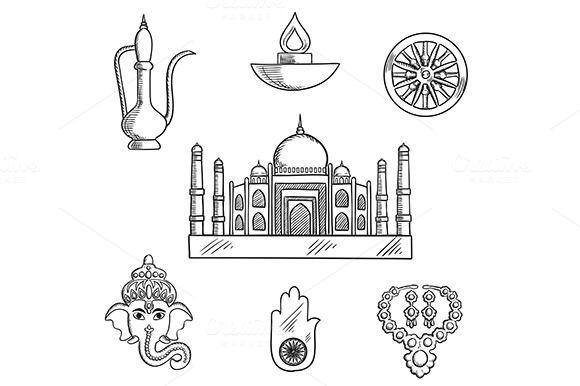 Indian Religion And Culture Symbols Religion Symbols And Chakra