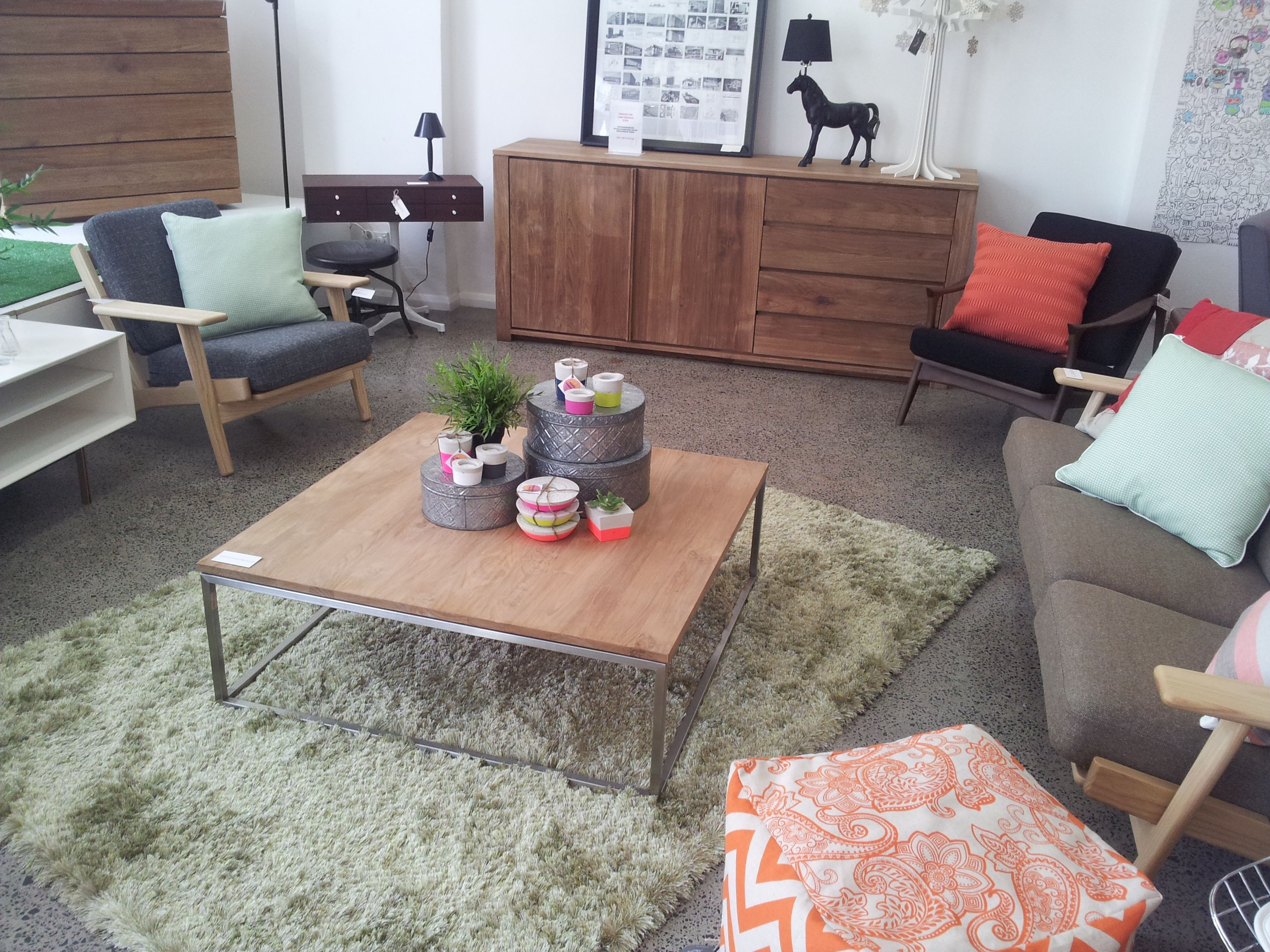 I love the Ethnicraft Teak Essential Coffee Table!