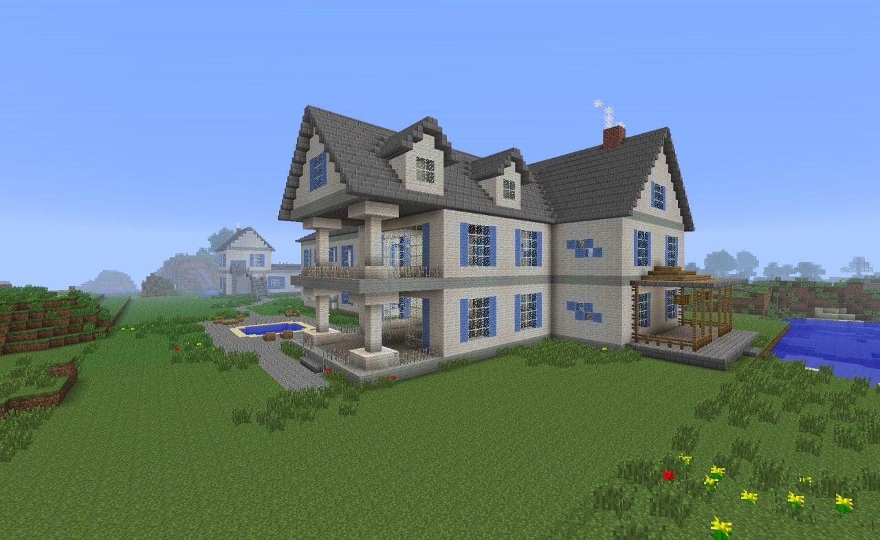 Seven Postwhite Mansion Minecraft Project Minecraft House Plans Mansions Minecraft Projects