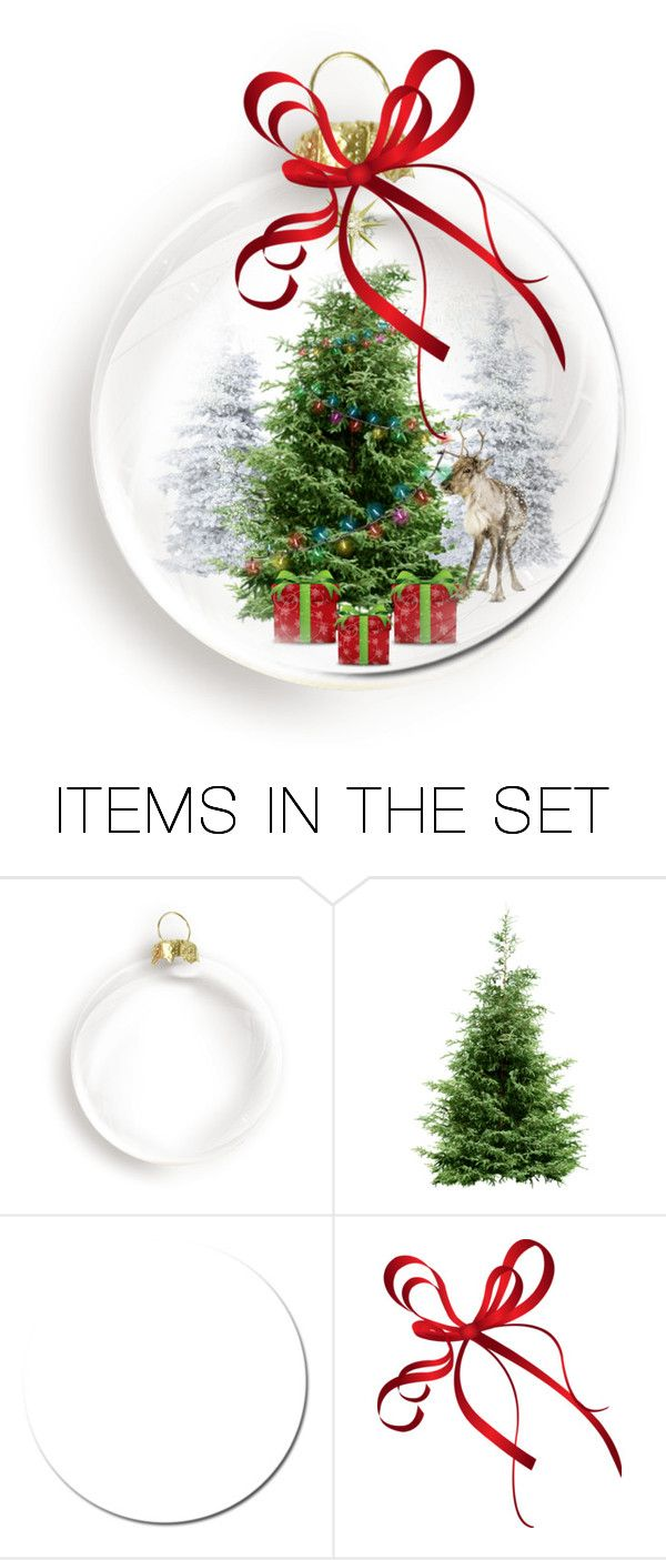 """Christmas ornament"" by pink1princess ❤ liked on Polyvore featuring art"