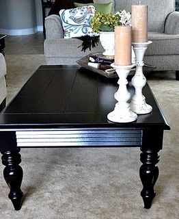 Warm Wood White Painted Coffee Tables Decor Coffee Table