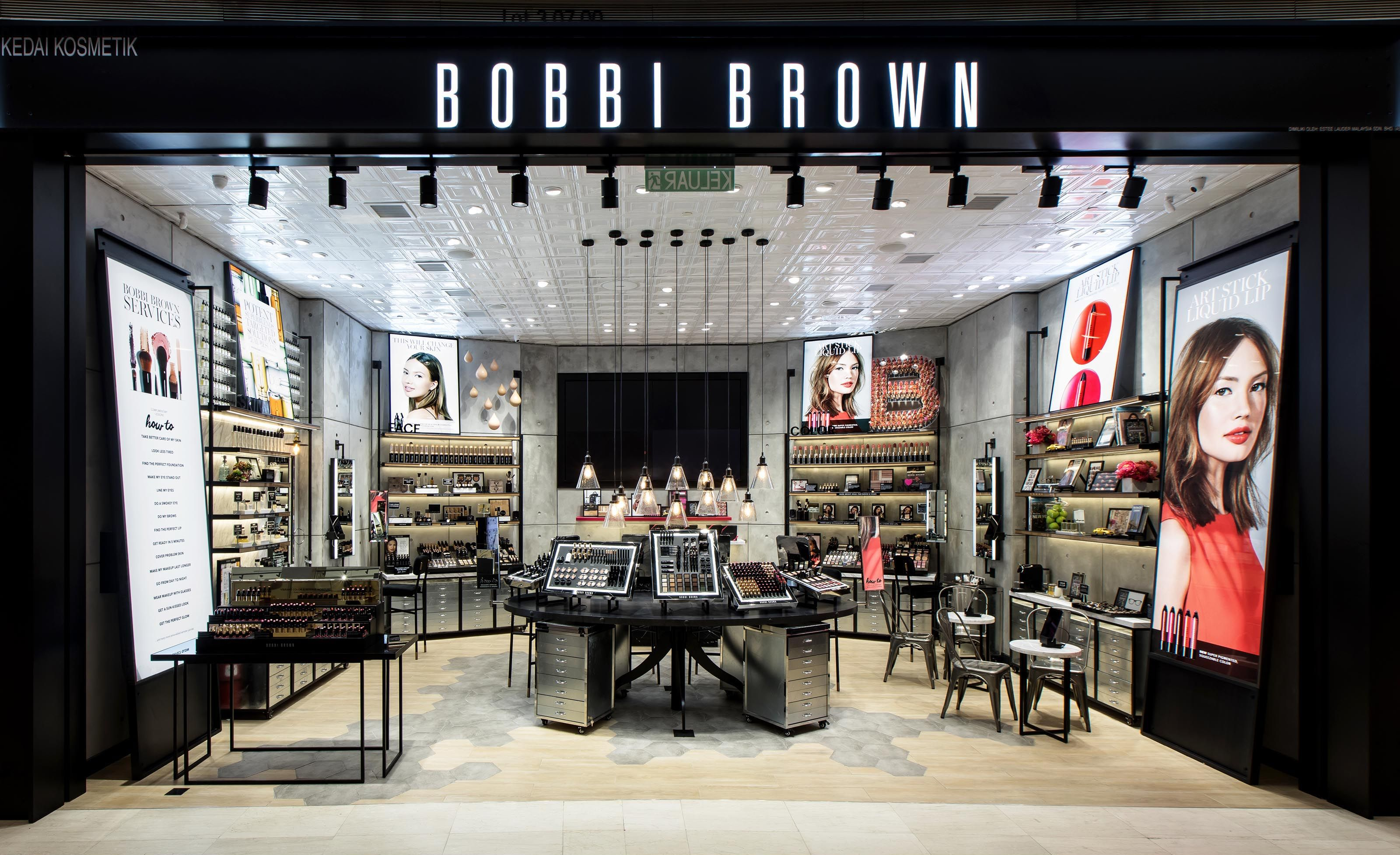 Bobbi Brown Pavilion Store Diva In Me Bobbi Brown Makeup Store Cosmetic Store