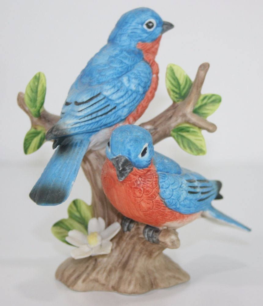 Home interior jesus figurines homco home interiors robin birds figurine