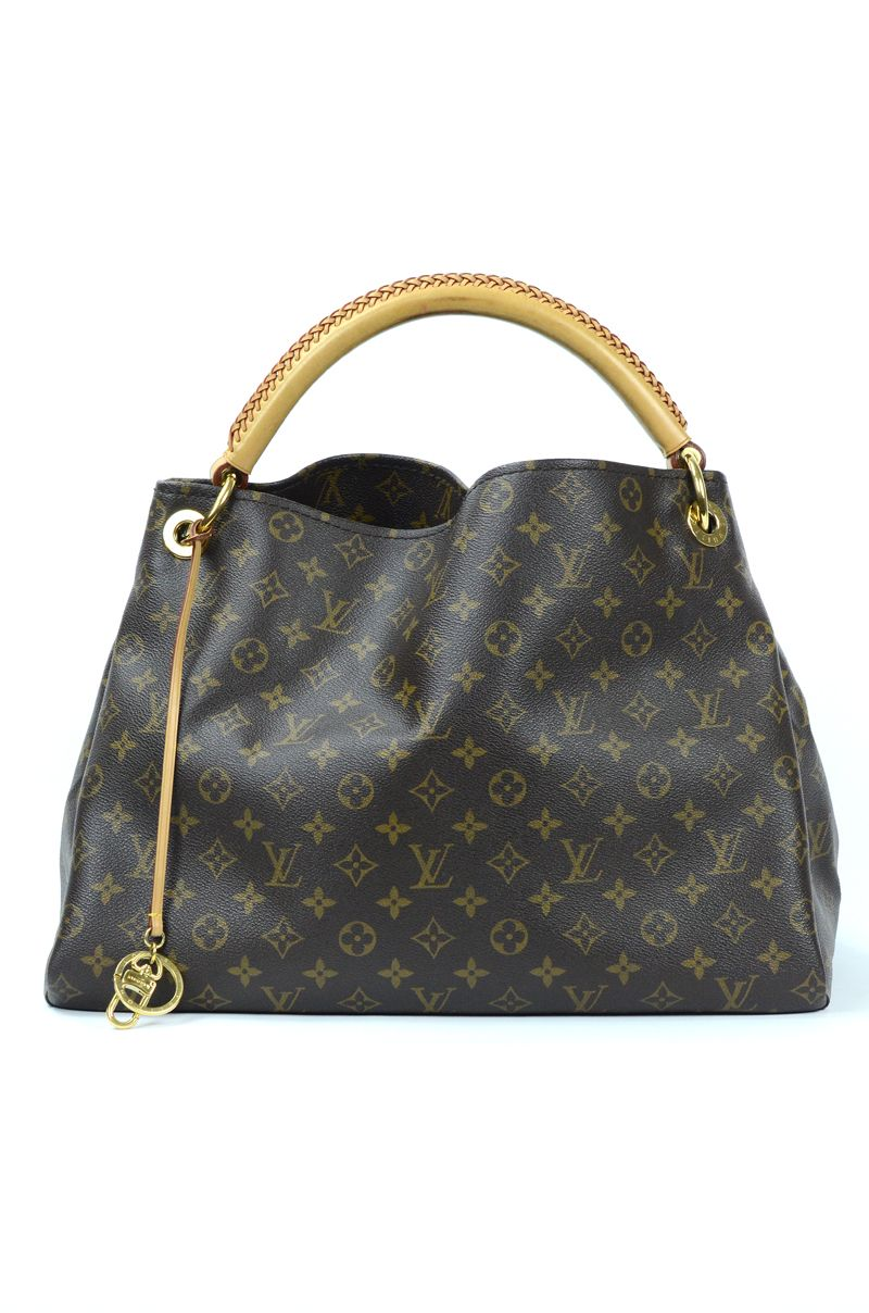 df8b8a85f34b Louis Vuitton Artsy MM Monogram Hobo with Braided Handle  1295 ...