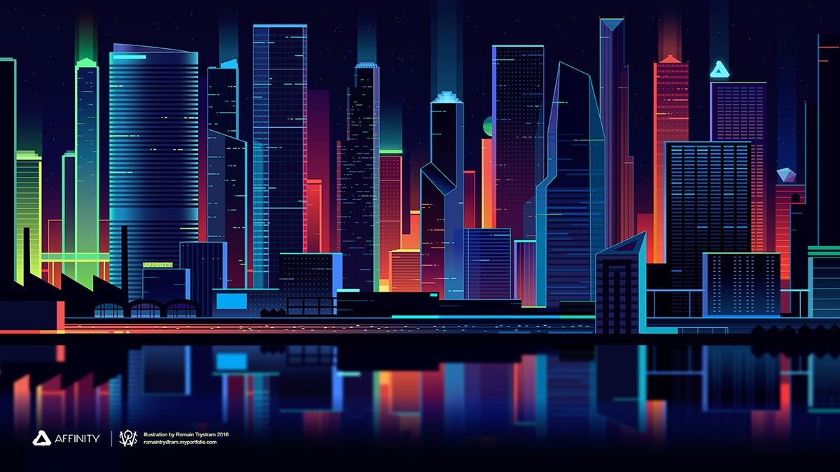 Showcase And Discover Creative Work On The World S Leading Online Platform For Creative Industries Landscape Concept City Illustration Illustration