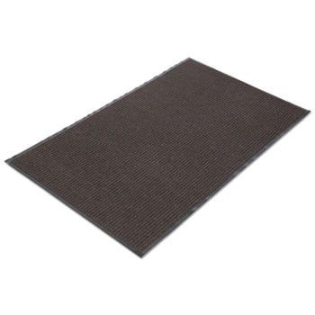 Needle Rib Wipe & Scrape Mat, Polypropylene, 36 X 60, Brown