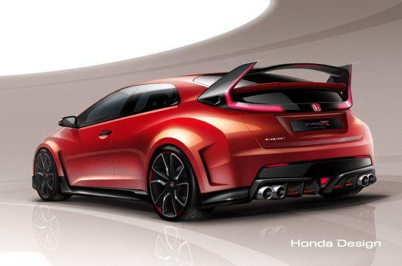 Honda Civic Type R Concept Preview 01 570x378 2015 Honda Civic Type R Concept | Preview