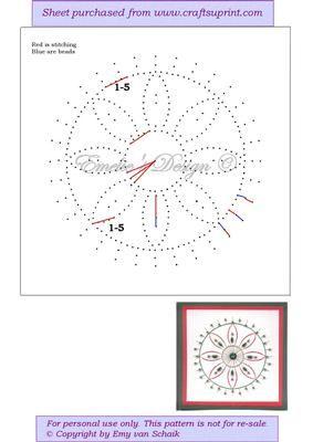 Ed098 Weihnachten Mandala